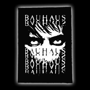 bauhaus backpatch