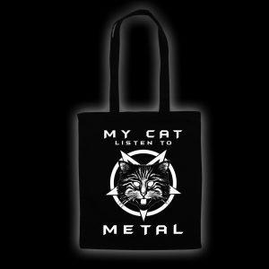 my cat listen - bag