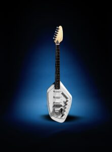 Ian Curtis' Vox Phantom Guitar for auction