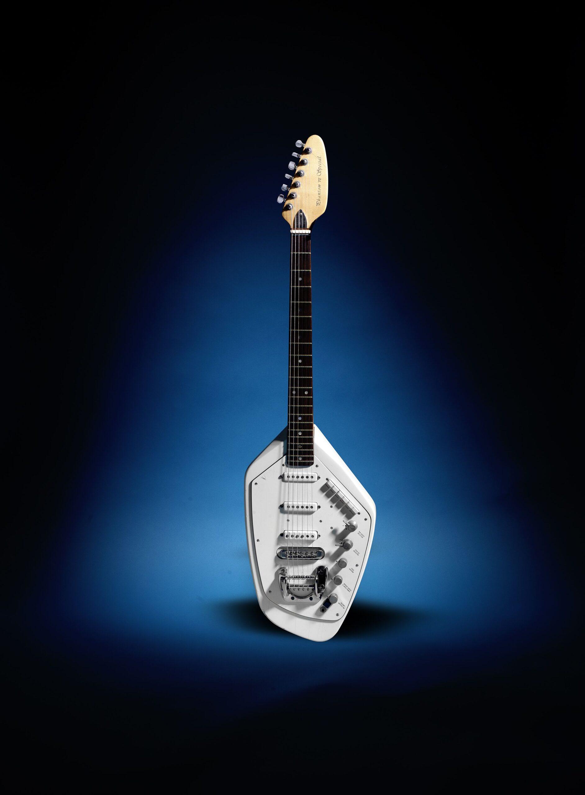 Ian Curtis' Vox Phantom Guitar for auction