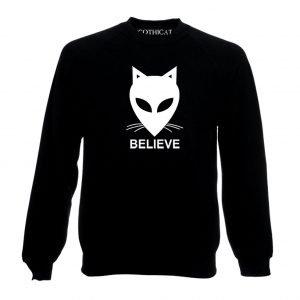 Alien Cat believe