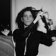 Patti Smith cat by Mapplethorpe