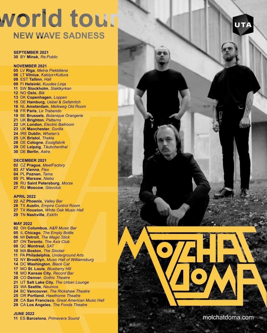 Molchat Doma world tour